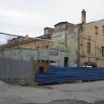 Гостиный двор, Тифлисская улица, 1, библиотека Академии наук, новый корпус, строительство