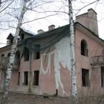 Павловск, Дом с ангелом, дача Мандель
