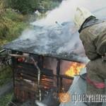 Пожар, Сосновский проспект, 1