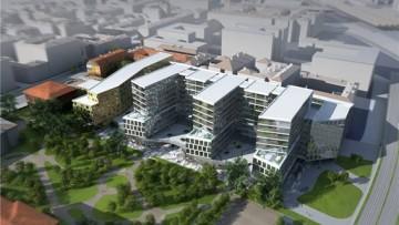 Торгово-развлекательный комплекс San Gally Park Center, проект