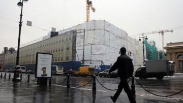 Невский центр, строительство