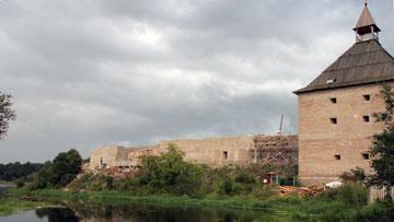 Старая Ладога, крепость