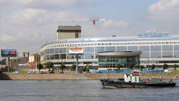 Гостиница Москва на площади Александра Невского