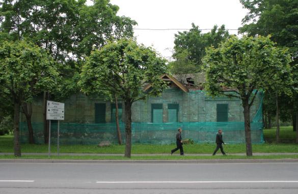 Пушкин, Царское Село, Московский переулок, сквер, сад, парк