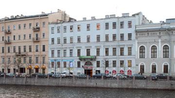 Дом Абазы, Зиновьева на набережной реки Фонтанки, 23