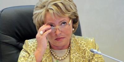 Валентина Матвиенко, Совет Федерации