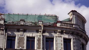 Невский проспект, 64, строительство мансарды