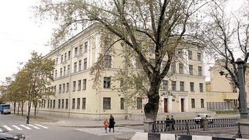 Школа № 243 на улице Союза Печатников, 1, набережной Крюкова канала, 5а