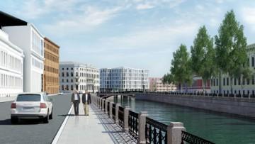 Набережная реки Мойки, 102, проект Эрика ван Эгераата