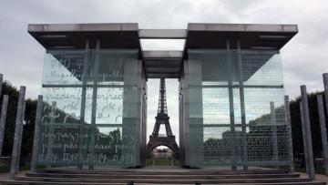 Стена мира, Ворота мира в Париже