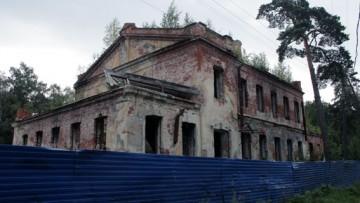 Детский приют, туберкулезная, противотуберкулезная больница у станции Разлив в Сестрорецке