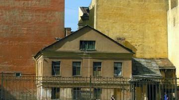 Моховая улица, 46, дом у церкви Симеона и Анны, Симеоновской