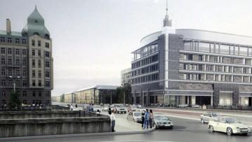Станция метро Обводный канал, вестибюль, проект