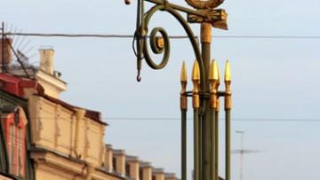 Пантелеймоновский мост, фонарь