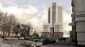 Многофункциональный комплекс, небоскреб на улице Гастелло, 7