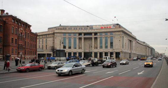Торговый центр, комплекс Галерея, Galleria на Лиговском проспекте