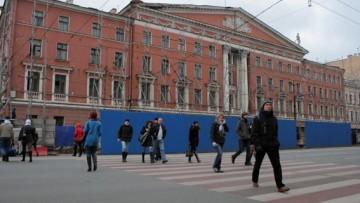 Исторический фасад Литературного дома
