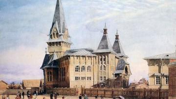 Лютеранская церковь Святой Марии, угол Кронверкской и Сытнинской улиц