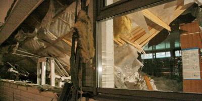 Проспект Раевского, 16, обрушение спортшколы Алексеева, окно
