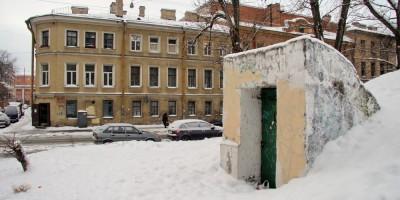 Витебская улица, 17, бомбоубежище, вход