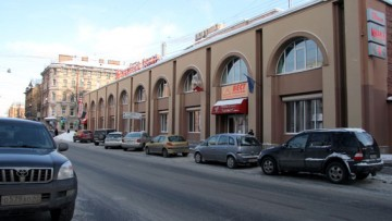 Торговый центр, комплекс Чкаловский на Большой Разночинной улице, 14