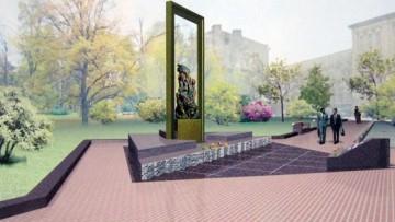 Памятник Блокадная Мадонна на Светлановской площади, проект