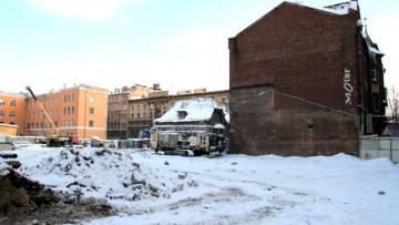 Улица Лизы Чайкиной, 2, строительство Академии танца Бориса Эйфмана