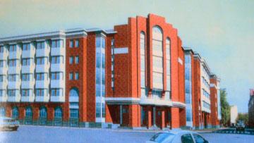 Новый корпус Евгеньевской больницы