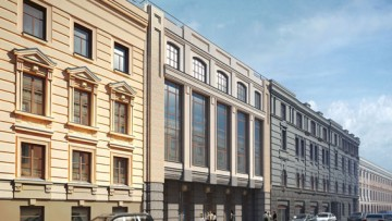 Торгово-гостиничный комплекс на Гороховой улице, 47-49, Сенной площади, проект