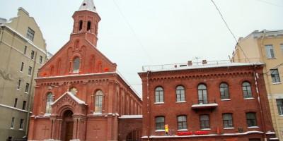Улица Декабристов, церковь Святого Иоанна