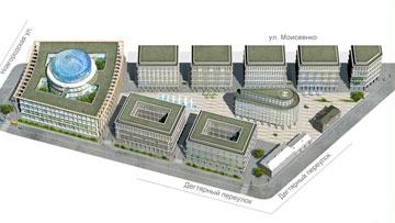 Проект Невской ратуши