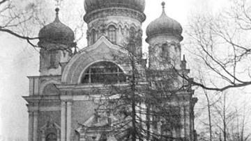 Церковь Святого Митрофания Воронежского на Митрофаниевском кладбище