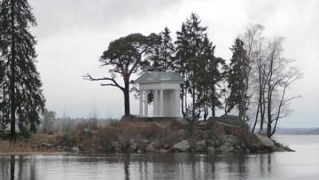 Выборг, парк Монрепо, павильон Храм Нептуна
