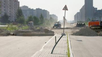 Богатырский проспект между улицами Яхтенная и Планерная