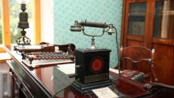Телефонный аппарат фирмы «Эрикссон», музей «Императорская телеграфная станция»
