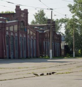 Трамвайный парк имени Леонова
