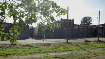 Трамвайный парк имени Леонова на Среднем проспекте Васильевского острова