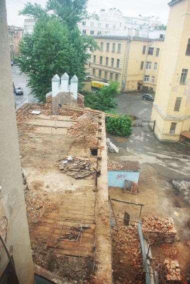 Дегтярный переулок, 2, снос, демонтаж, разборка
