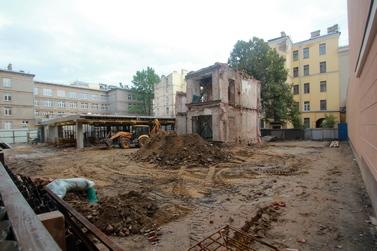 Дом Ленина после сноса