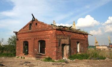 Канонерский остров, 1, дом бакенщика, Тухлов дом