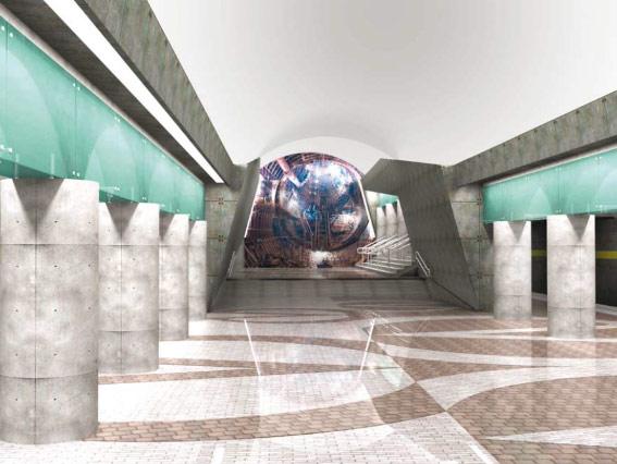 Проект станции «Обводный канал-2»