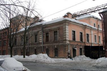 Сталепрокатный завод, фабрика Шопена, 25-я линия Васильевского острова, 6-8