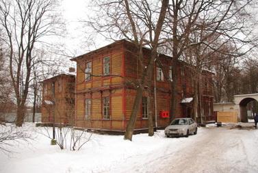 Дом ветеранов сцены, деревянный корпус на Петровском проспекте, 13, литера А