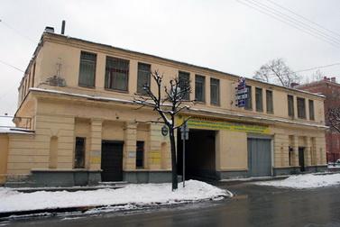 Большая Посадская улица, 12, литера П, проходная