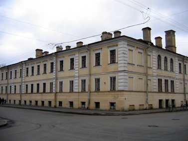 Виленский переулок, 14, казарма Преображенского полка