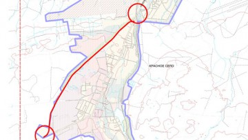 Генеральный план Красного Села, объездная дорога, обход
