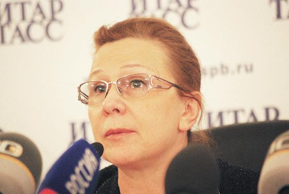 Людмила Косткина, вице-губернатор Санкт-Петербурга