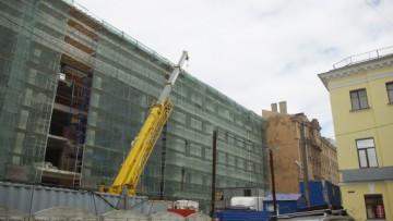 Строительство торгово-офисного центра, Литейный проспект, 26