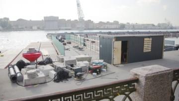 Подготовка к строительству Ново-Адмиралтейского моста