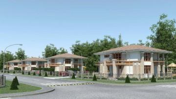 Новый коттеджный поселок «Онегин парк» вблизи Павловска и Пушкина
